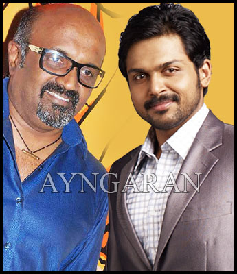 Karthi in Ravi K chandran's film?