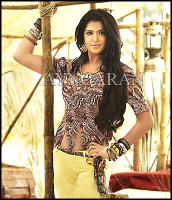 Deeksha Seth In Vettai Mannan Deeksha Seth awaiting for