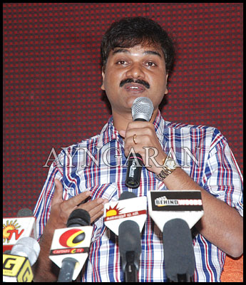 Lyricist Viveka meets the press