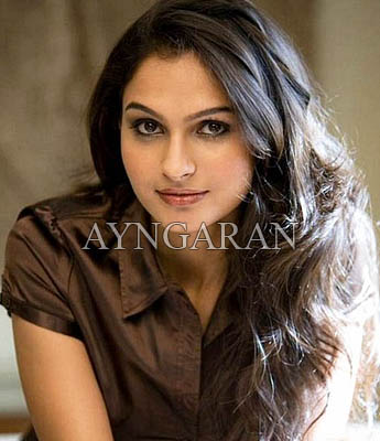 Actress Andrea Jeremiah on a high