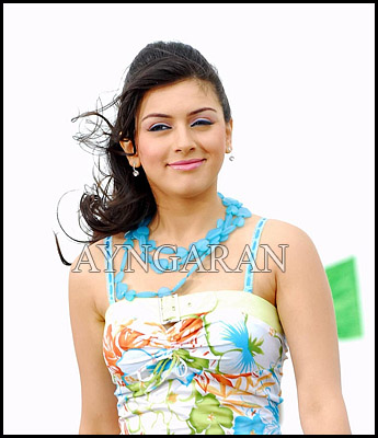 Hansika bags a role oppsite Surya