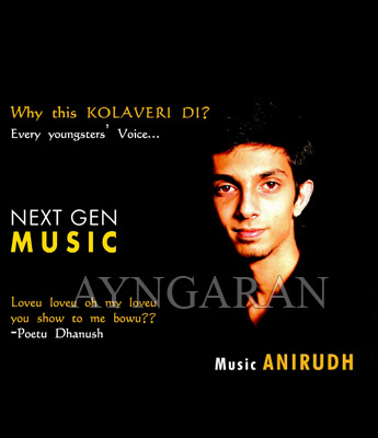 It's Anirudh everywhere