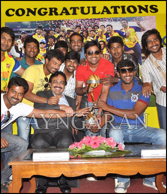 CCL Success press meet held