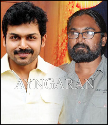 Shantha kumar to direct Karthi?