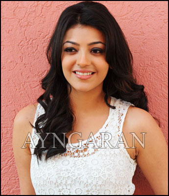 It's amazing to work with two superstars, says Kajal
