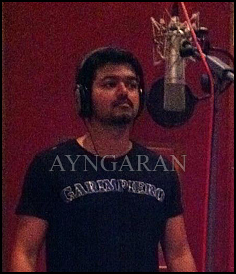 Vijay croons a party track