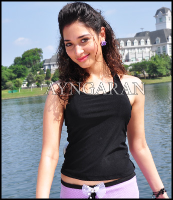 Tamannah in a bilingual project
