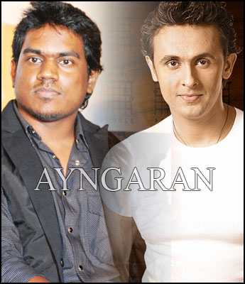 B'wood singer sings for Yuvan