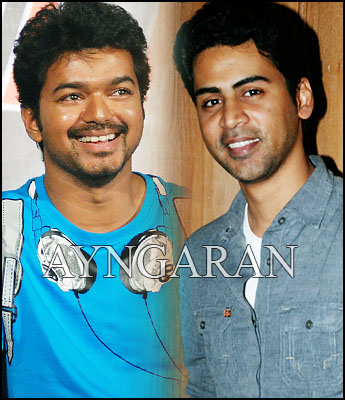 Vijay in Krish's Forever in Love album