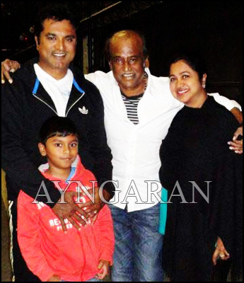 Sarath Kumar & Radhikaa bond with Rajini