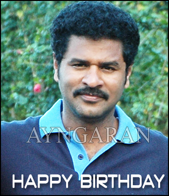 Hearty wishes to Prabhudeva