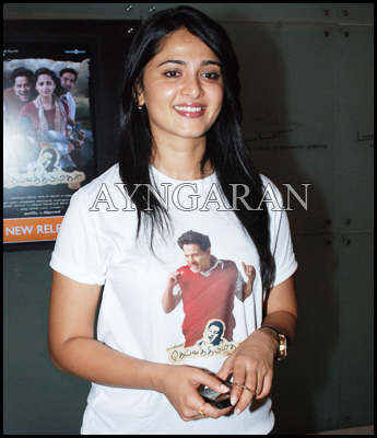 Anushka has her hands full