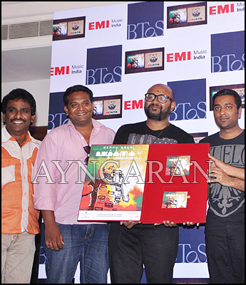 Playback singer Benny Dayal launch his album