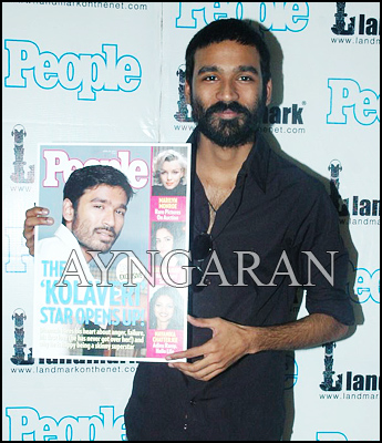 Dhanush @ People Magazine launch