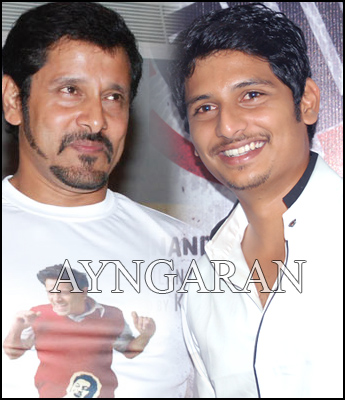 Jiiva is also a part of DAVID
