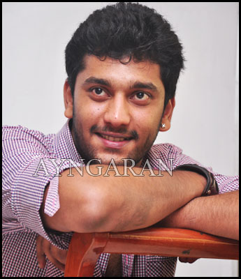 Actor Arulnidhi has his hands full
