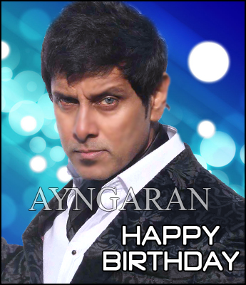 Hearty wishes to chiyaan Vikram