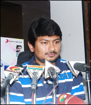 Udhaynidhi Stalin meets the press