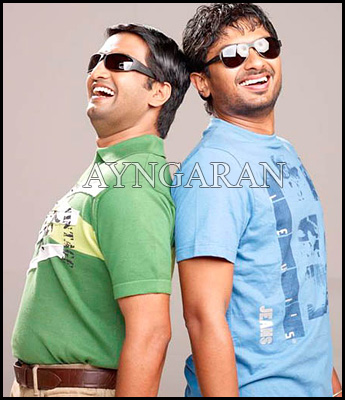 Comedian Santhanam on a roll
