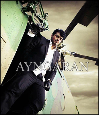 Ajith performs daring stunts in Billa II