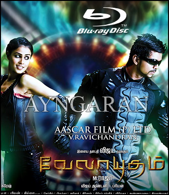 Velayudham BLU RAY DISC to be released soon