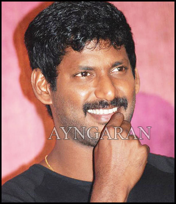Vishal in Saravanan's direction?
