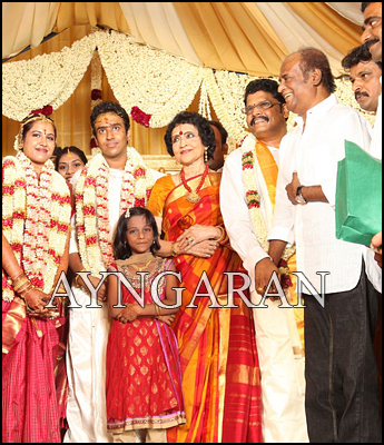 KS Ravikumar elder daughter enters marital bliss