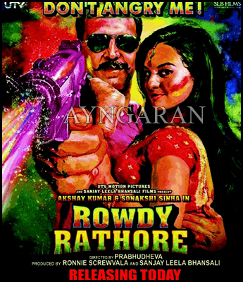 Rowdy Rathore releasing today