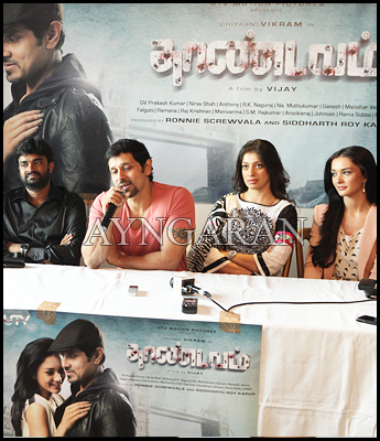 Thaandavam team meets the press in London