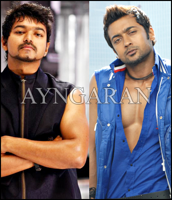 Vijay & Surya :The fitness freaks of south