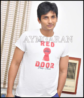 Actor Jiiva meets the press