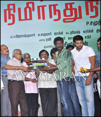 Nimirndhu Nil  movie launched