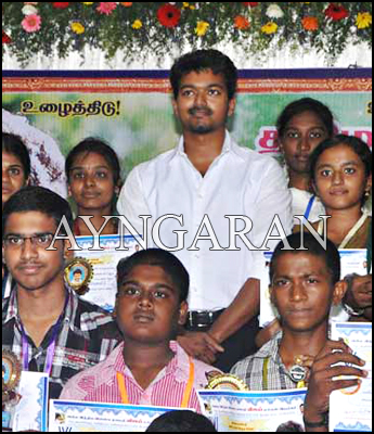 Vijay Stands up for a good cause