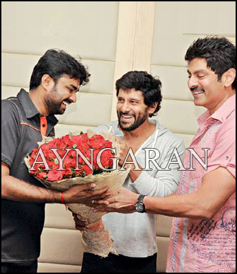 Thaandavam team wraps up shooting