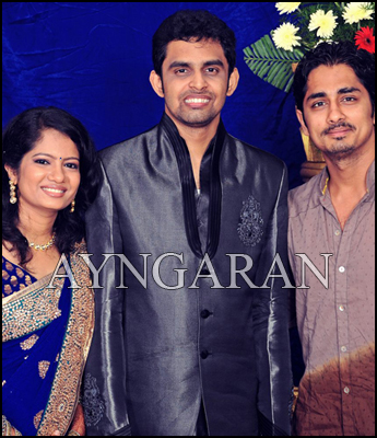 Director Balaji Mohan wedding reception held