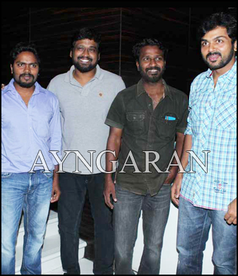Attakathi press meet held