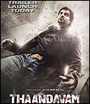 """Thaandavam"" trailer to be launched today"