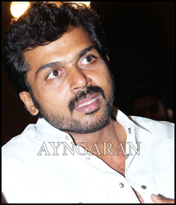 Actor Karthi -Mobbed at an recent event