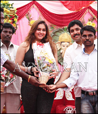 Namitha @ JS Paradise Family Marriage Hall launch