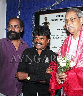 SP Jhananathan inaugurates Saraswathi Acting Institute