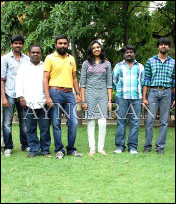 Sundarapandian Movie press meet held