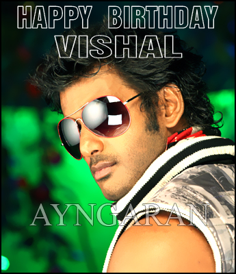 Happy Birthday Vishal