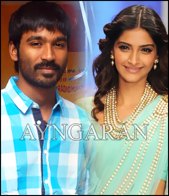 Danush and Sonam Kapoor together in Varanashi
