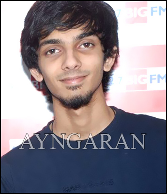 Anirudh in Kiruthiga's project