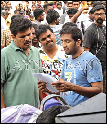 Director shankar I movie working stills
