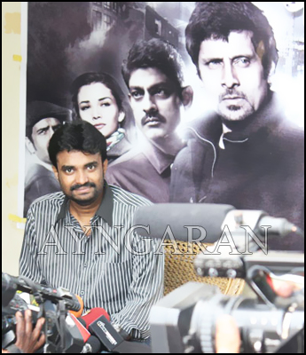 Director AL Vijay Press Meet held