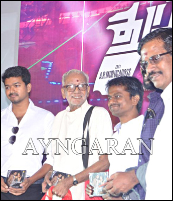 Thuppaki Audio Launched