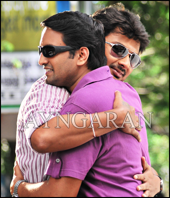 Udayanidhi and Santhanam again