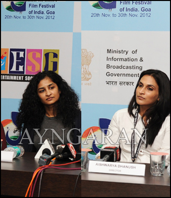 Aishwarya Danush key note speaker of IFFI