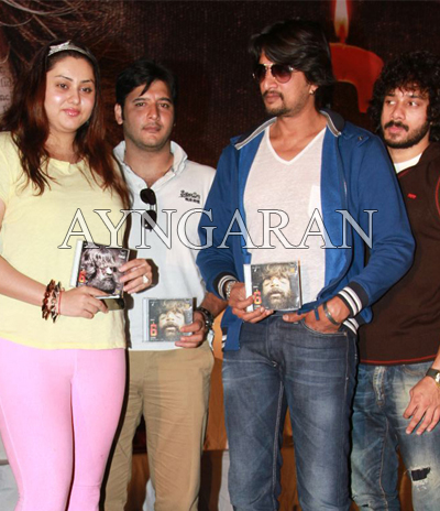 Sudeep heaps laurels shaam